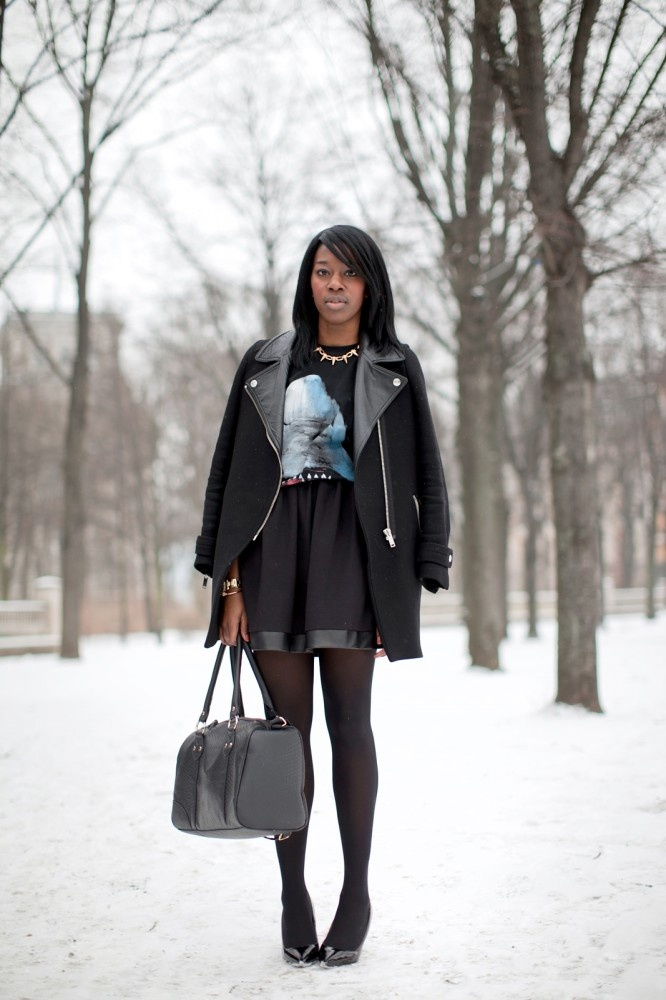 Berlin Street Style Pics- German Fashion Winter 2013 cute outfit!