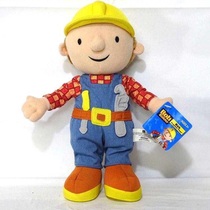Hasbro Bob the Builder Huggable Plush Stuffed Toy Doll ...