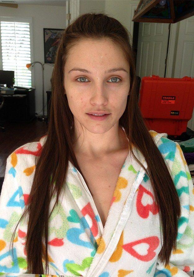 Celeste Star | 28 photos avant et après qui montrent le pouvoir du maquillage