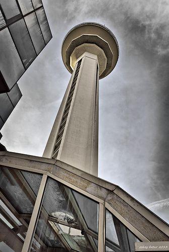 Atakule observation tower - Ankara, Turkey