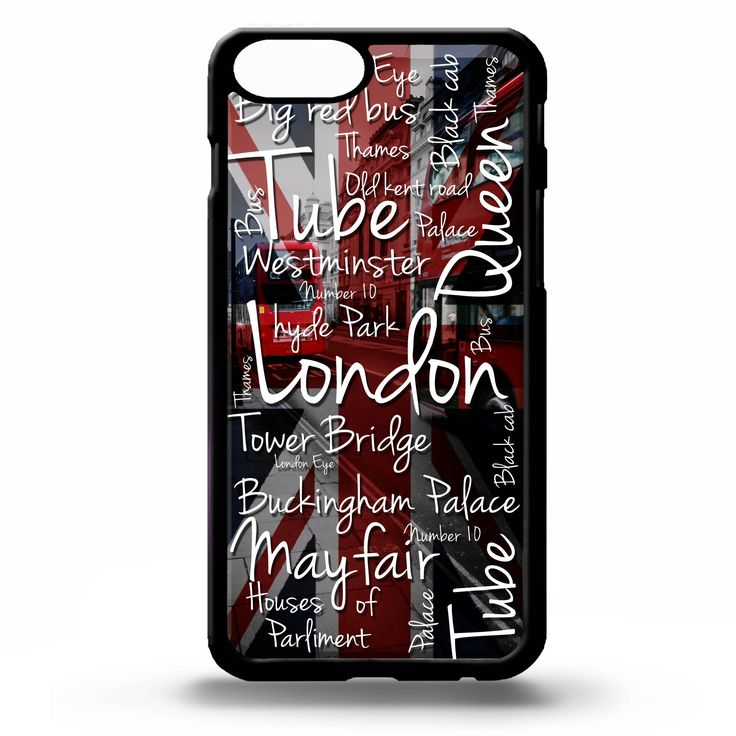 Excited to share the latest addition to my #etsy shop: London city phrase quote words pattern UK union jack flag art cover for iphone 4 4s 5 5s 5c SE 6 6s 7 8 plus X phone case #london #londoncity #unionjackflag #ukflag #unionjack #londonphrase