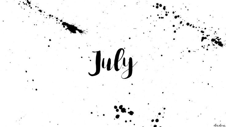 #freebie #wallpaper #freebies #freebiefriday #black #white #minimal #july #calendar #desktop #background #forfree #free #kostenlos #download