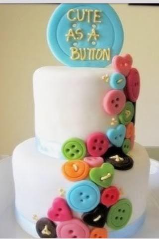 """1st birthday party ideas for girls - Cute pictures for the """"cute as a button"""" theme"""