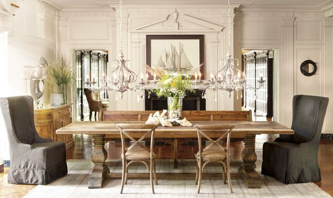 Dining Rooms Furniture Arhaus Dining Dining Chairs Dining Tables