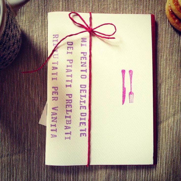 Quadernetto Afrodita - Handmade Mini Notebook