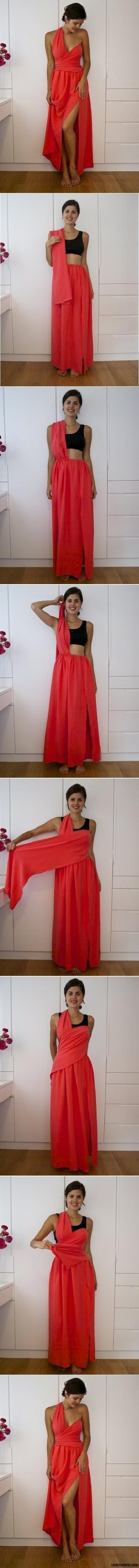 DIY No Sew Dress Pictures, Photos, and Images for Facebook, Tumblr, Pinterest, and Twitter