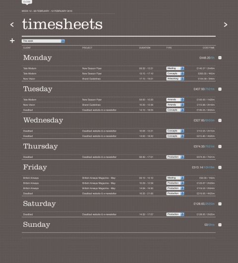 20 best images about timesheet – Timesheet Design