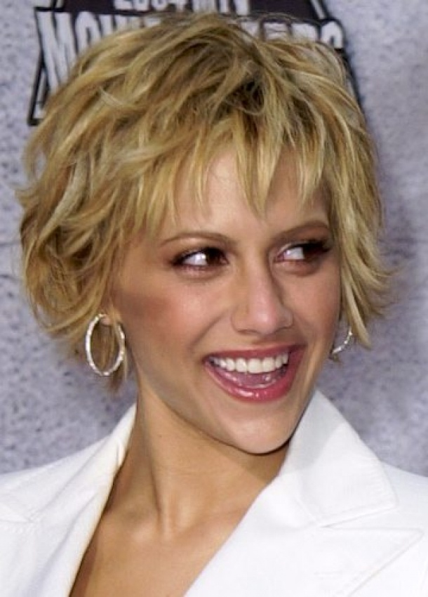 Really Cute Short Hairstyles Brittany Murphy Hair Photo ...