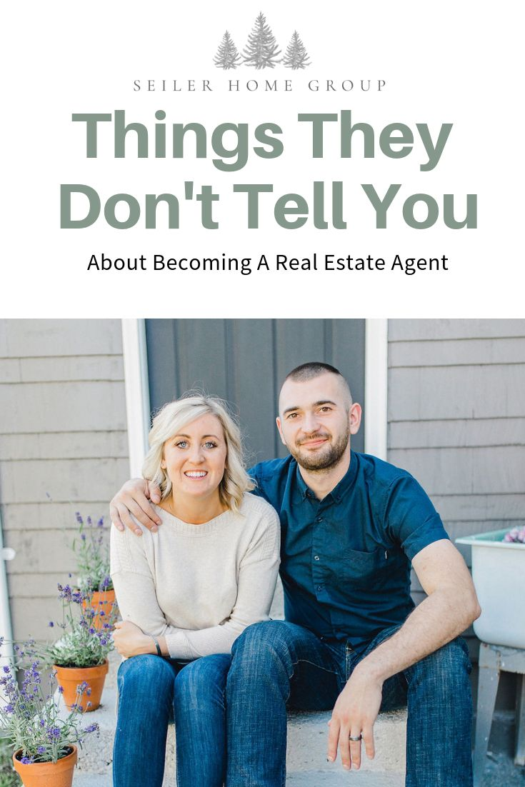 The truth is, becoming real estate agents was the best decision we ever made, bu…