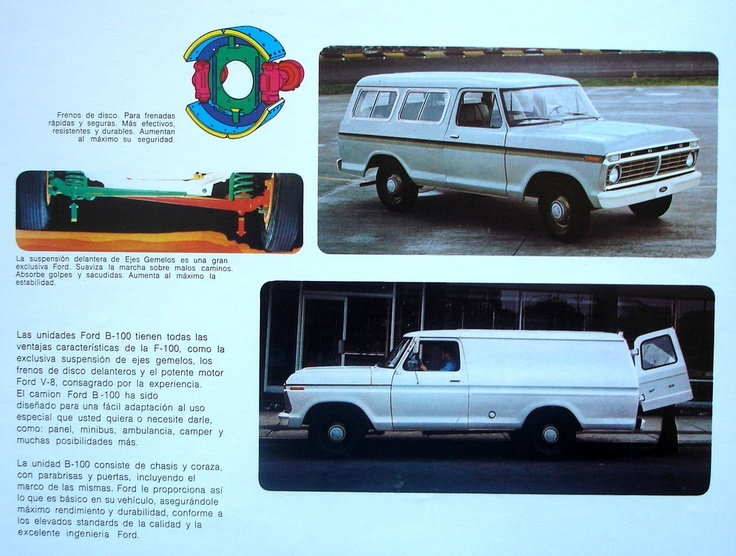 1974 ford b 100s sold only in latin america these were suburban type trucks that were marketed. Black Bedroom Furniture Sets. Home Design Ideas