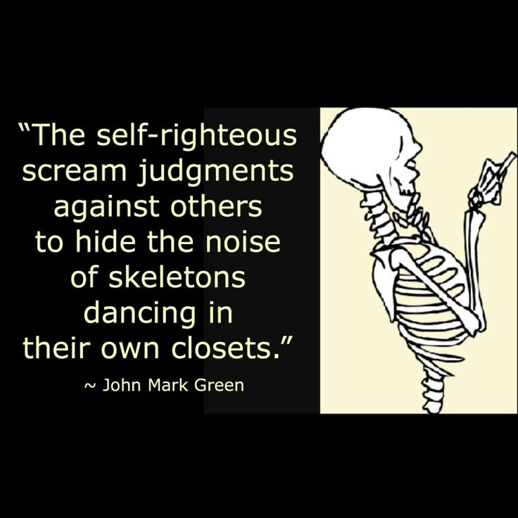 Quote about self-righteous judgmental people by John Mark Green #johnmarkgreenpoetry #johnmarkgreen