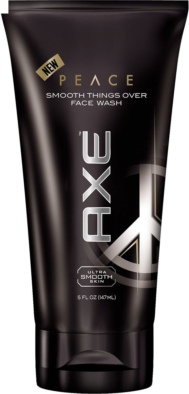 AXE Face Wash, Peace, 5 Ounce. Feel the love. Specially designed to cleanse your face, leaving your skin irresistibly smooth. Look for the full line of Axe peace products.