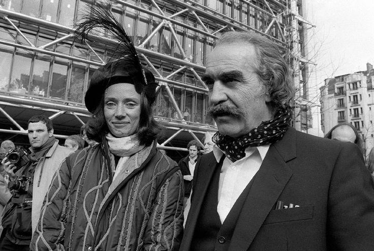 Artistic couple Niki de Saint Phalle and Jean Tinguely.