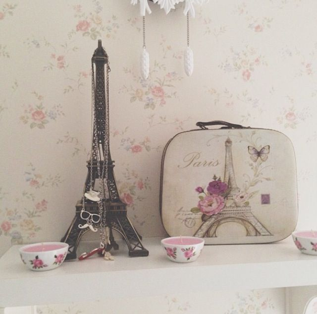 Paris home decor accessories - Home decor