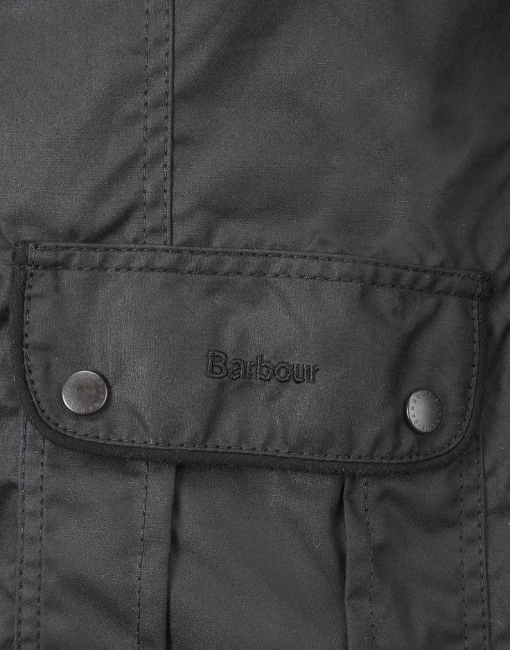 Barbour Seafarer Women's Utility Jacket - Black LWX0004BK91 (L1093)