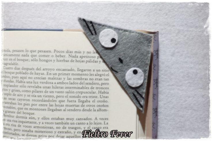 BOOKMARK Totoro Totoro bookmark My Neighbor Totoro by FieltroFever