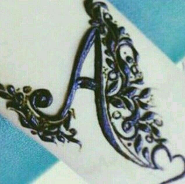 Henna Tattoo Alphabet: 264 Best A Images On Pinterest