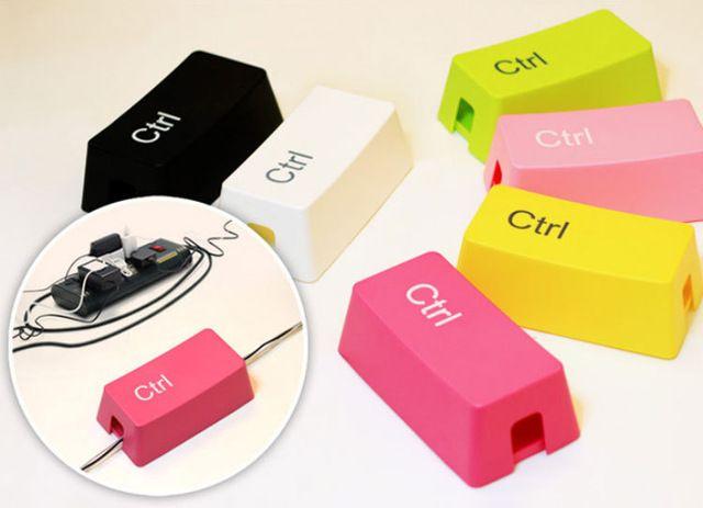 Caja de Almacenamiento de Alambre Cablebox Cable Rojo/Azul/Blanco/Verde/Color de Rosa/Amarillo 6 Colores 26*14*9 cm Envío Libre