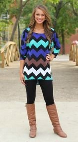 A Chevron Dream Tunic