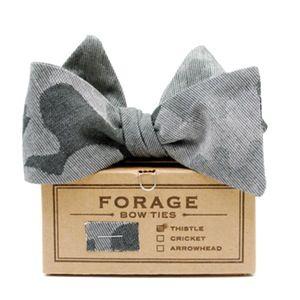 Camo bow tie | Forage Haberdashery  | $58