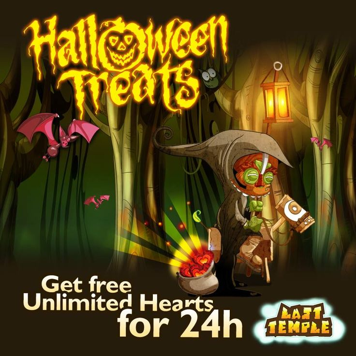 Nielimitowane serca na 24h na Halloween na fejsie http://wp.me/p3OqeB-86 #lasttemple