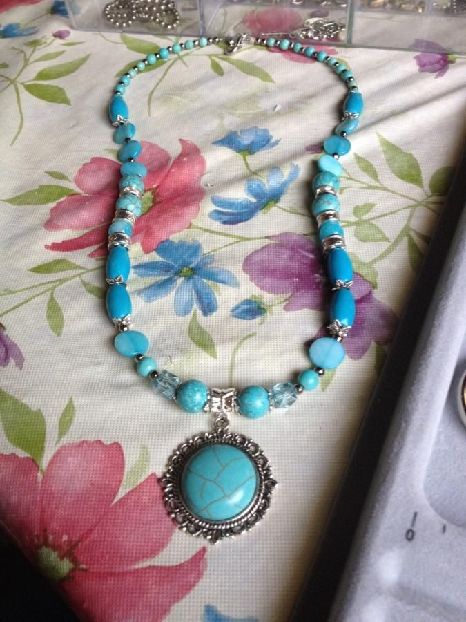 Blues - Jewelry creation by Catv