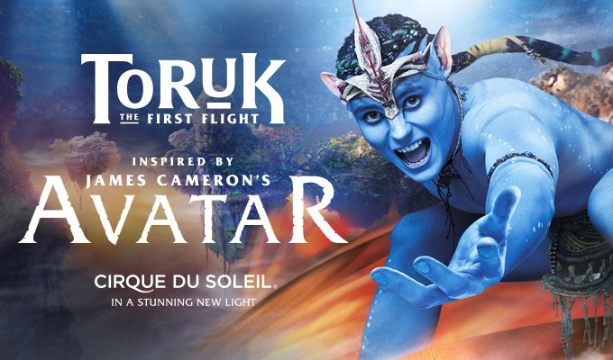 CIRQUE DU SOLEIL TORUK – The First Flight | Talking Stick Resort Arena