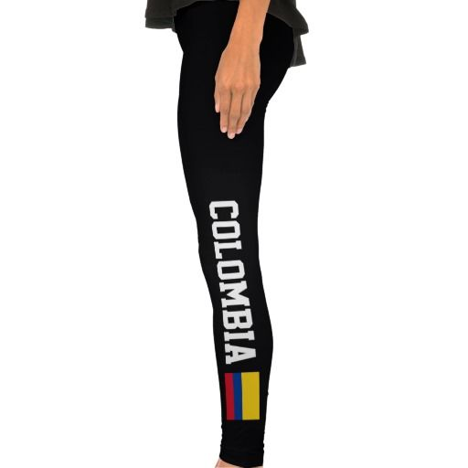 Colombia Flag Legging Tights