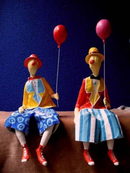 Palhaço com balão | Papel pra toda Obra | 46304 - Elo7