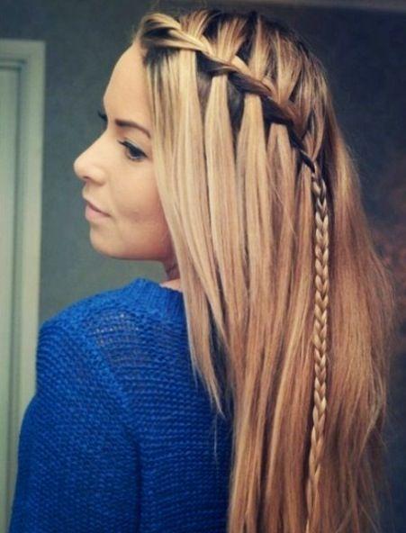 Hair style for long hair