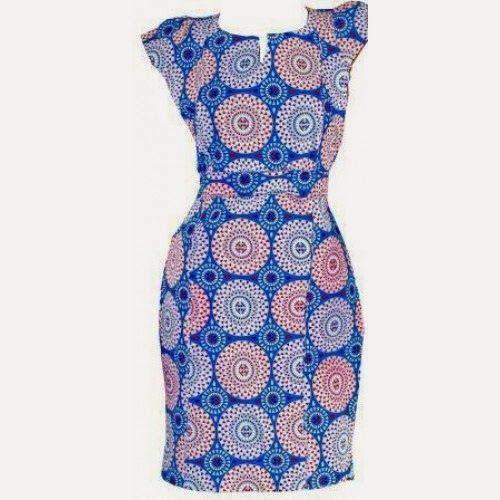 Nigeria Ankara Fashion Styles:Ankara Gown