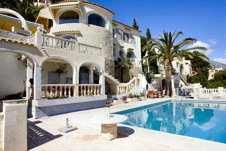 Luxus Ferienhaus Spanien mit Pool Costa Blanca Spanien