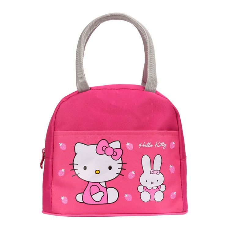 New Student Lunch Bag Lovely Cute Cartoon Lunch Picnic Bag Handbag  Kids  Lunch Bags For Women Food Bag Wholesale