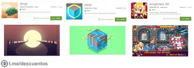 3 videojuegos Premium para Android GRATIS - http://ift.tt/2om014S