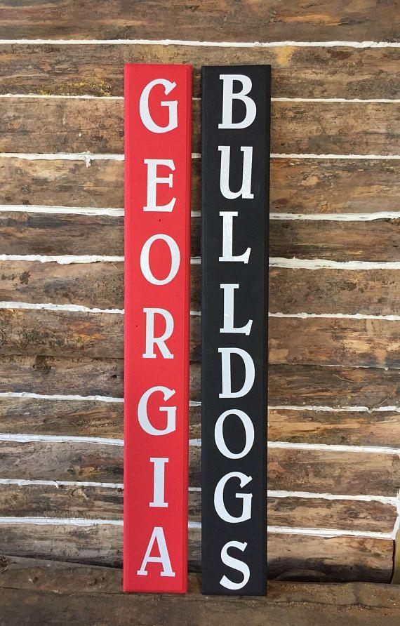 Georgia Bulldogs Sign Customized College Football Signs Georgia