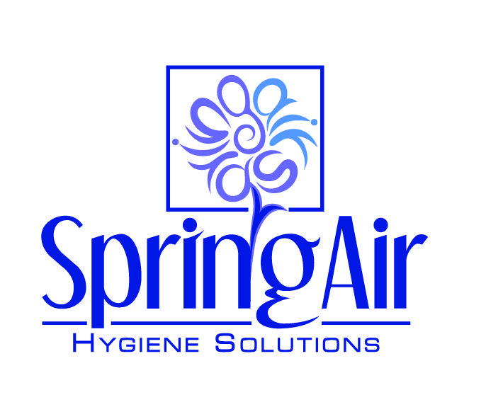 by Argiro Stavrakou, year 2004, Spring Air Letter-Petal Logo / a company tha makes hygiene, deodorizing products, Sprays and Room Aromatics