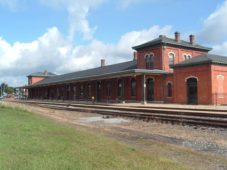 Jackson, Michigan Train Station