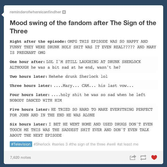 """But then, eventually, everybody realized that the """"happy"""" episode actually ended on a really sad note. 