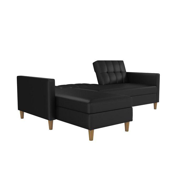 Brandi Reversible Sleeper Sectional Sectional Sofa Chaise Sofa Modern Sleeper Sofa