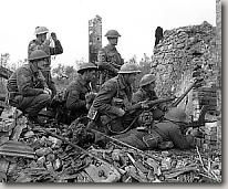 Soldiers in action, Ortona