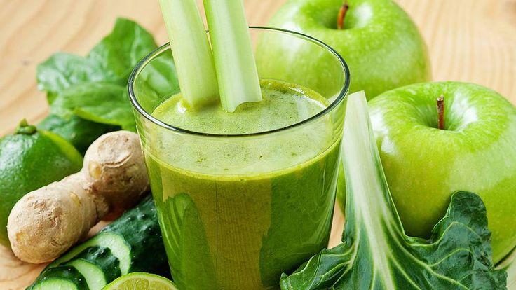 Drick dig platt. Jo, du hörde rätt. Gröna juicer och smoothies är toppen för figuren. Drick en, eller flera, om dagen – och säg hej då till putmagen!