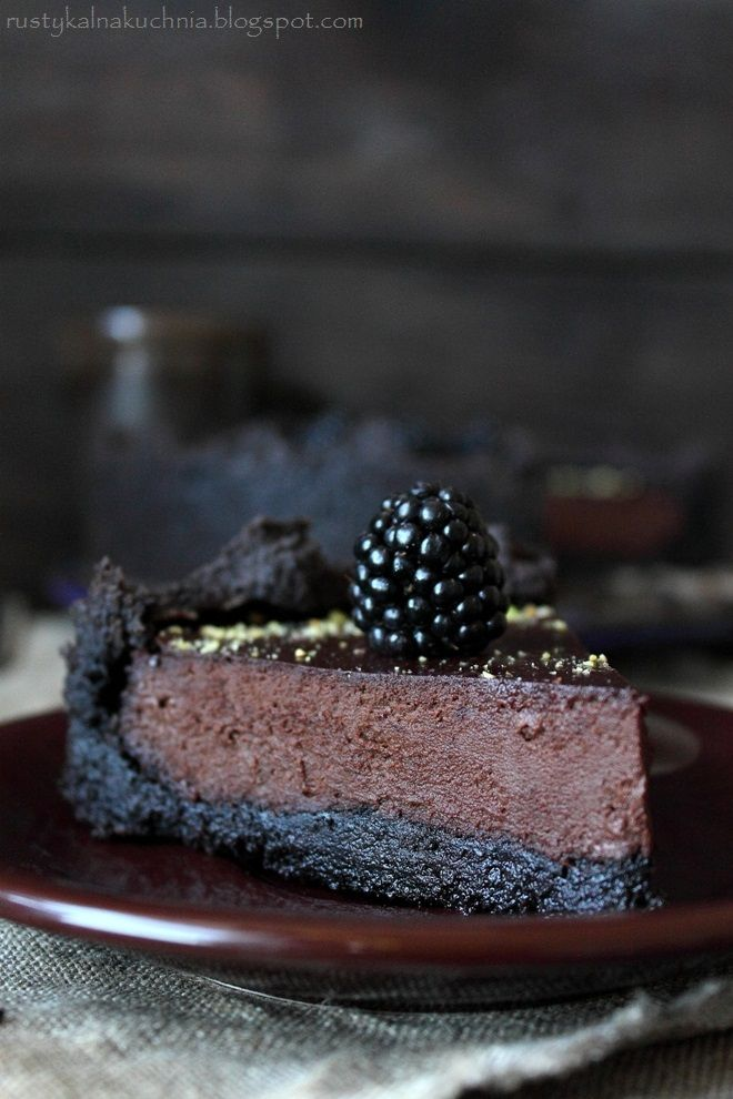 Chocolate Blackberry Tart