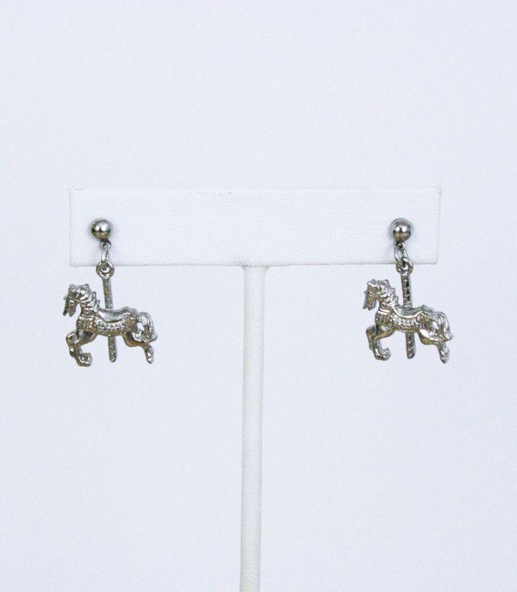 VINTAGE | Carousel Horse Earrings