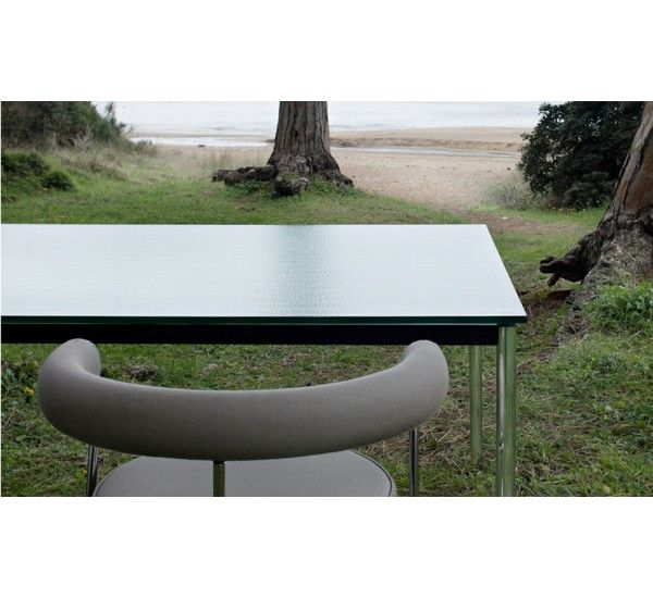 Exceptional Is A Famous A Table Designed By Le Corbusier For Cassina, Characterized By  Rational Minimalist Design With Clean Lines. Design