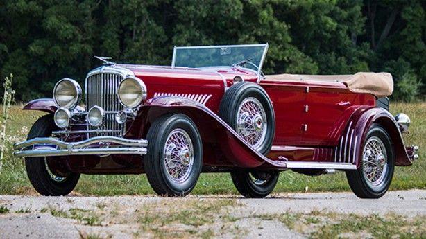 1931 Duesenberg Model J Convertible Sedan by Murphy