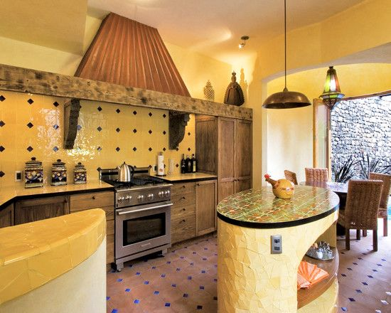 Mexican Style Kitchen Design, Pictures, Remodel, Decor And Ideas