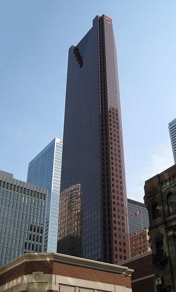Scotia Plaza, Toronto, Canada, 275 meters