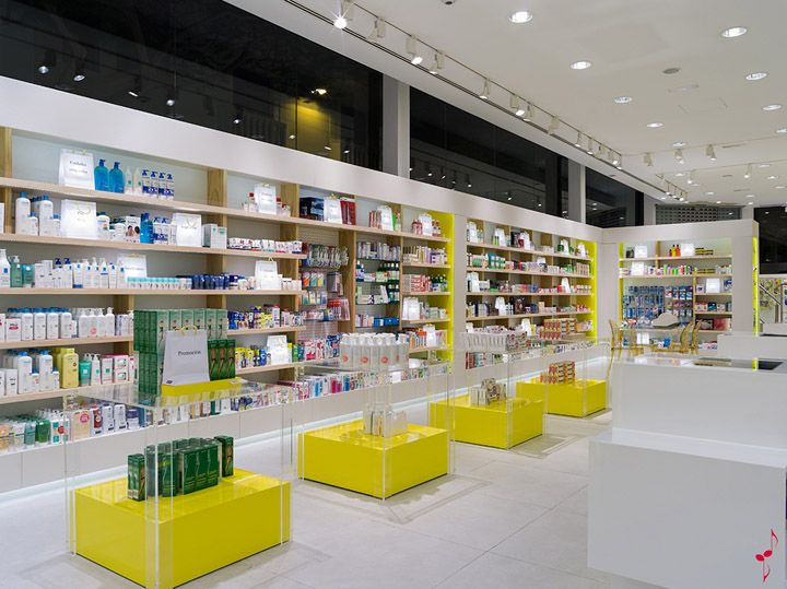 santacruz pharmacy by marketing jazz santa cruz de tenerife store design