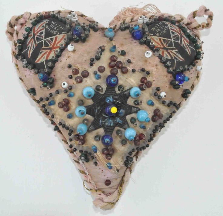 Sailor-made sweetheart pincushion early 20th century.