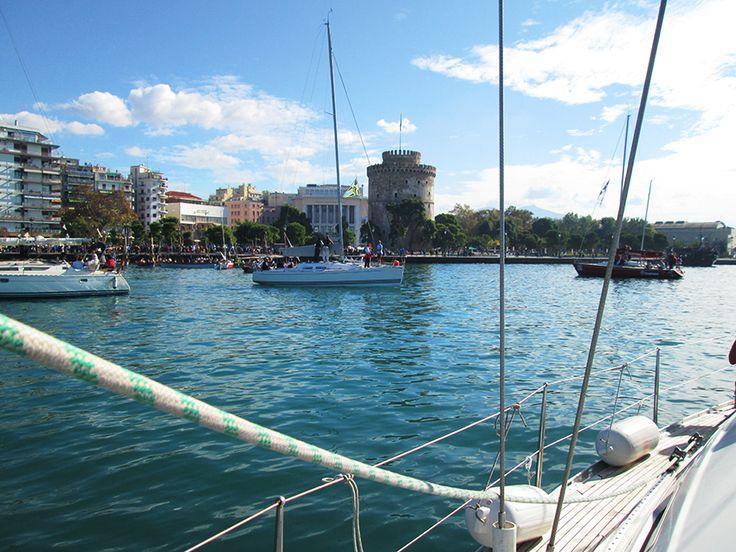 Thessaloniki is best seen from a boat…